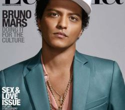 """Foto de Bruno Mars fala sobre discriminação racial para a revista """"Latina"""""""