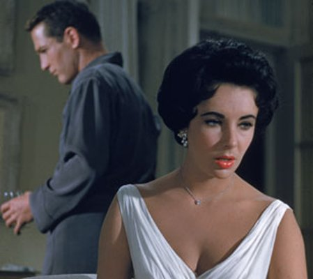 Elizabeth Taylor's white dress