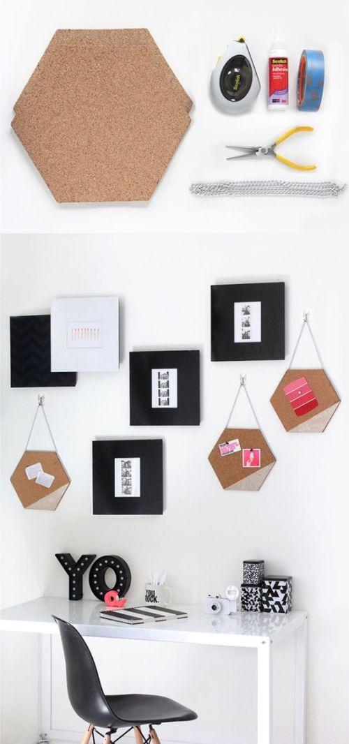 Tablones de corcho originales | Consejos e ideas para ahorrar