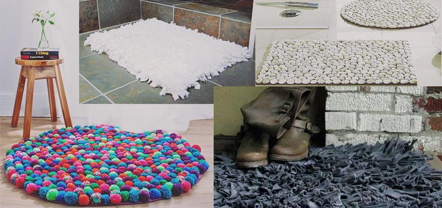 Hacer tu propia alfombra es así de fácil