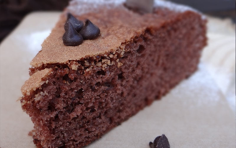 bizcocho de chocolate facil