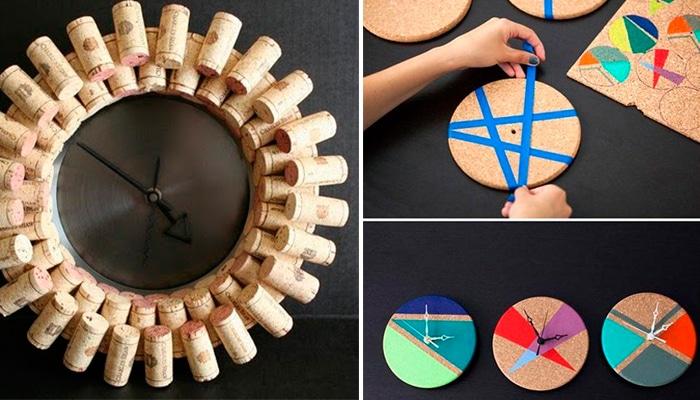 Ideas para hacer relojes diy