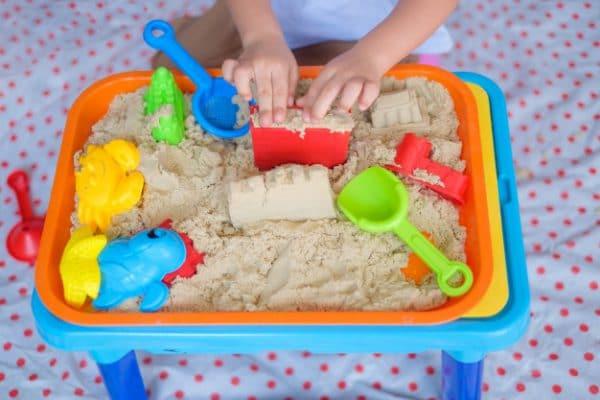 Como hacer arena mágica o cinética