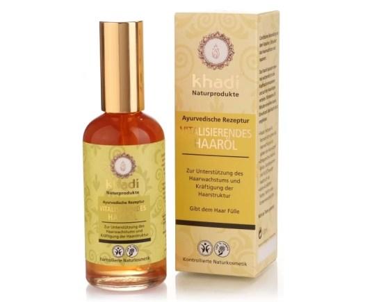 Khadi Vitalising Hair Oil – ajurwedyjska siła wzmacniająca włosy