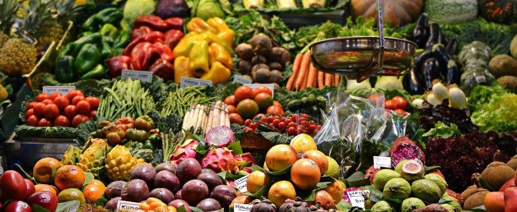 Warzywa - najlepsze źródła błonnika pokarmowego