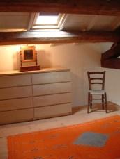 Bedroom on the loft