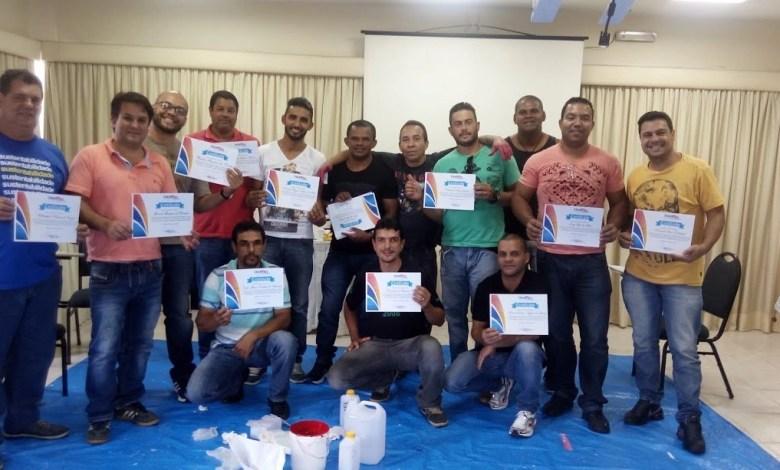 Curso de porcelanato liquido Belo Horizonte BH