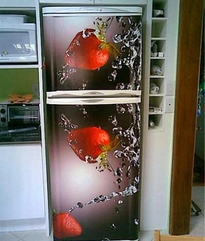 LiquidPiso Envelopamento geladeira