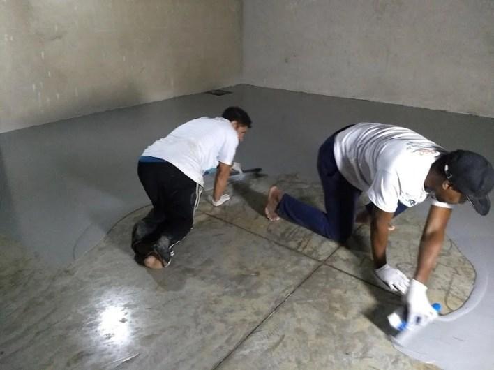 LiquidPiso Pintura Epóxi Centro Automotivo Macaé RJ