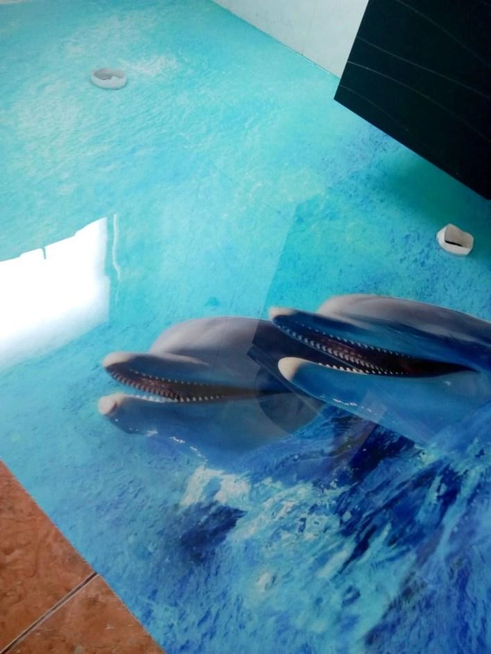 LiquidPiso 3d Golfinho