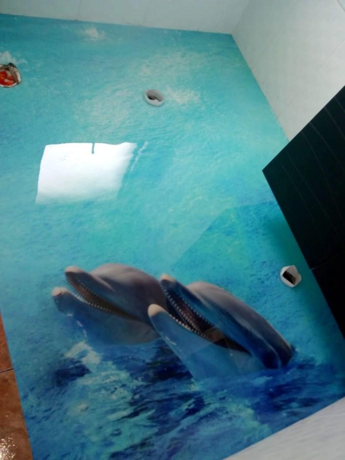 Porcelanato Líquido 3d Desenho Golfinho!