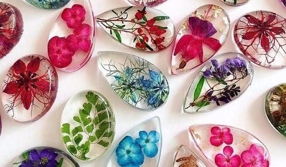 artesanatos fáceis com resina cristal