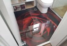 Photo of Piso em 3D Para Banheiro