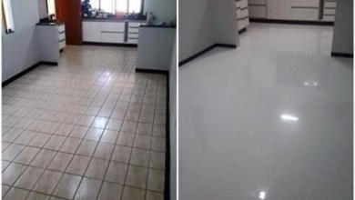 Photo of Porcelanato Liquido Sobre Piso Cerâmico!