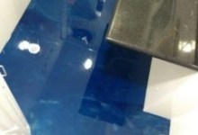 Photo of Porcelanato Liquido Marmorizado Azul e Cinza!