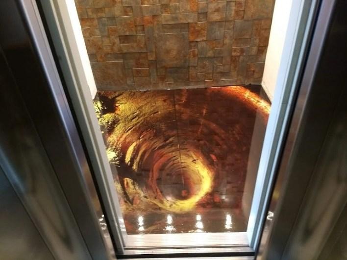 LiquidPiso Hall de elevador