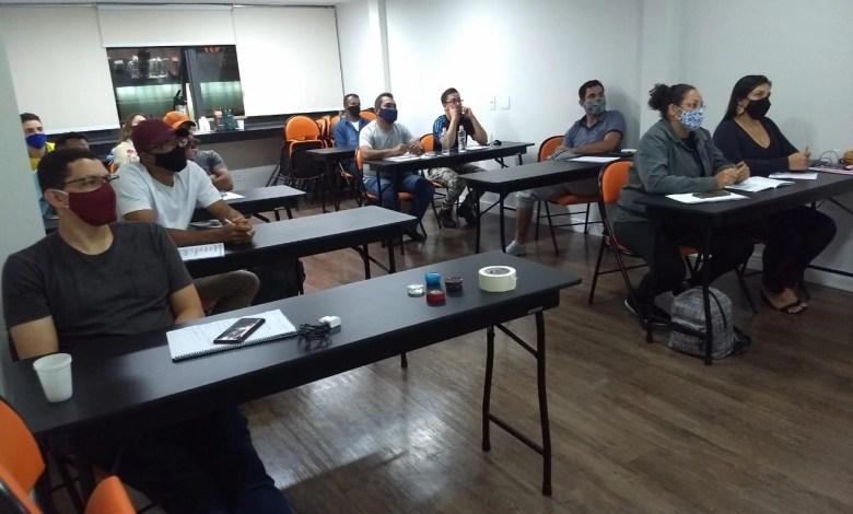Curso de Porcelanato Liquido Presencial Brasília DF