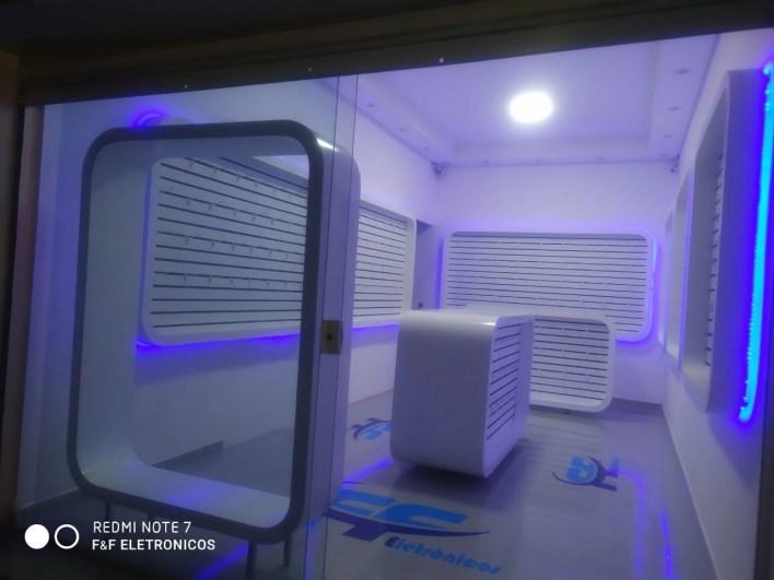 Piso Liquido 3D Loja Acessórios Celular