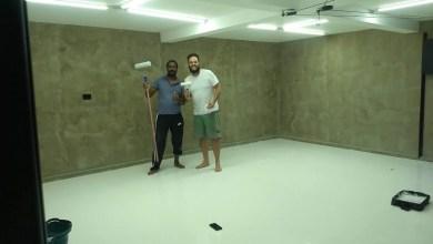 Photo of Pintura Epóxi Branco em Garagem