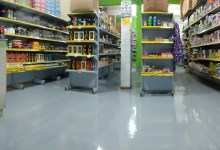 Photo of Pintura Industrial Piso Supermercado