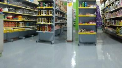 Pintura Industrial Piso Supermercado