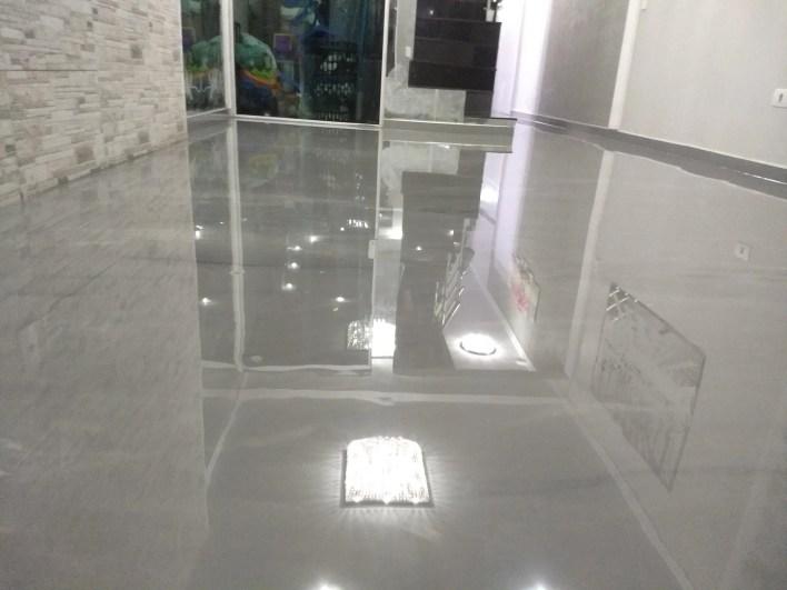 Porcelanato Liquido Cinza Marmorizado