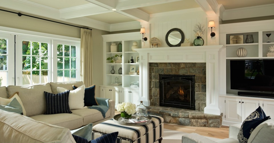 transitional style living room small ideas fireplace creating a classic is classy