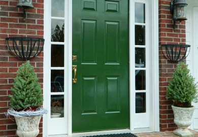 Front Door Color Ideas For Yellow House