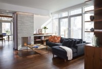 Modern Meets Luxury In These NYC Living Rooms - Porch Advice