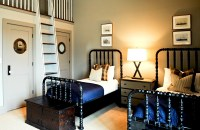 Matching twin beds on Pinterest