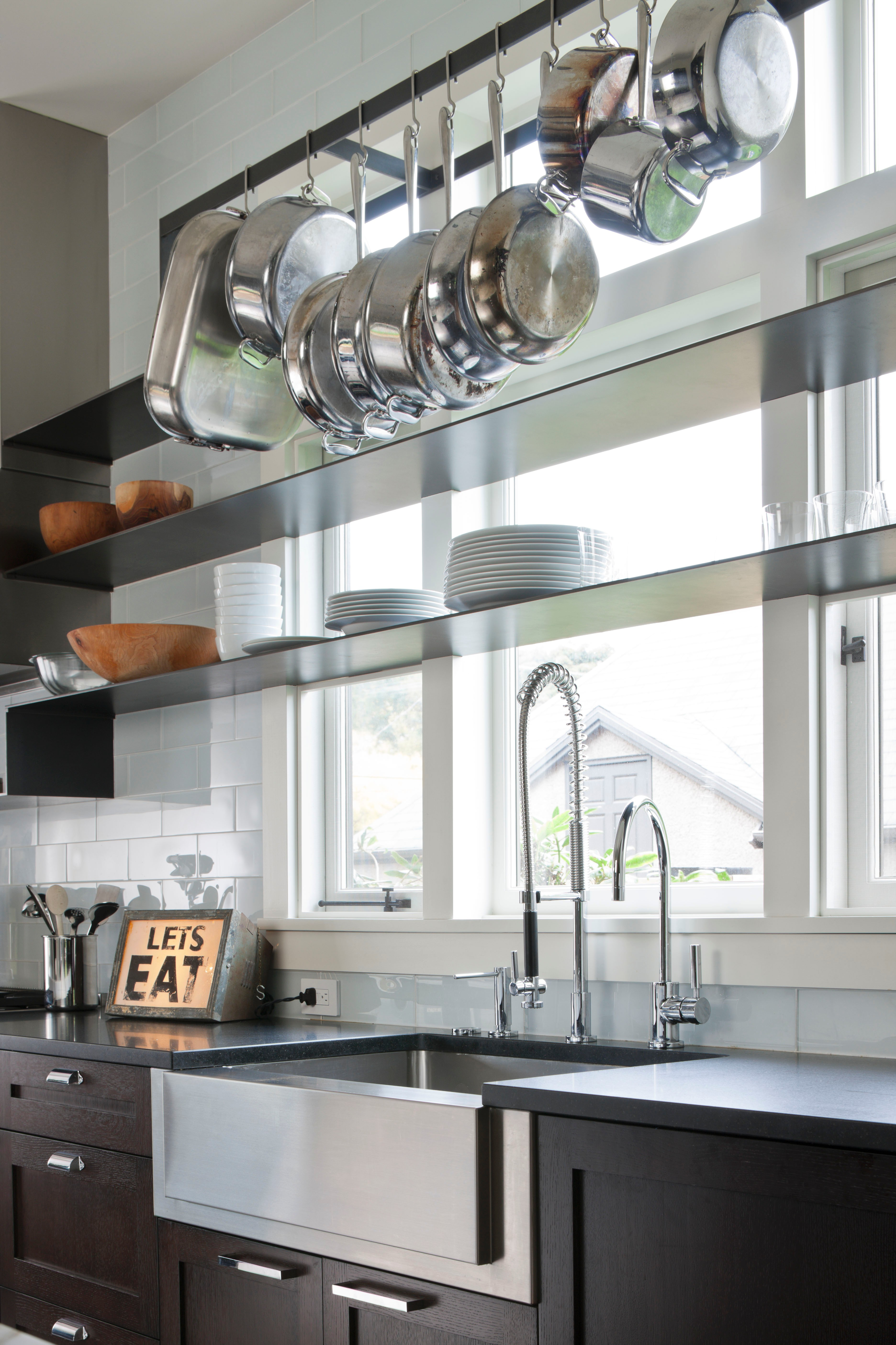 open metal shelving kitchen farmhouse style faucets the 6 best design trends to try in 2015 porch advice