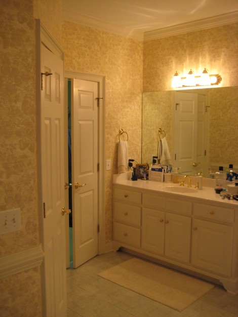 easy kitchen remodel cost of marble countertops before and after: a spa-like master bathroom ...