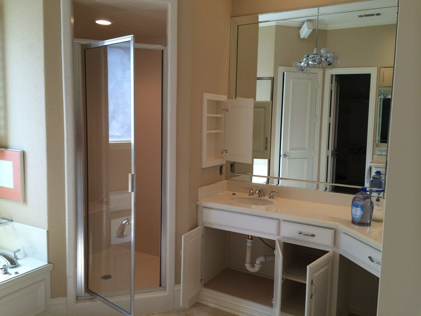Before and After A Luxurious Full Master Bath Remodel