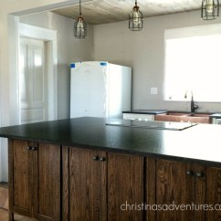 Installing Kitchen Countertop Remodel Seattle Leathered Granite Counter Tops - Christinas Adventures