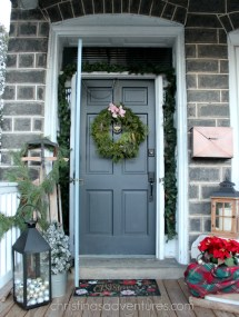 Fixer Upper Front Porch Christmas