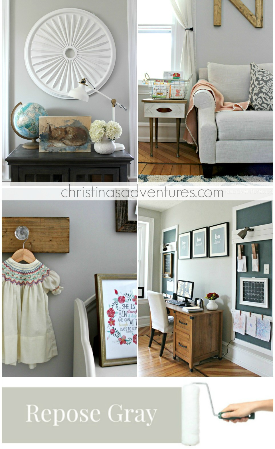best neutral paint colors for living room sherwin williams small end tables our house modern farmhouse christinas adventures repose gray