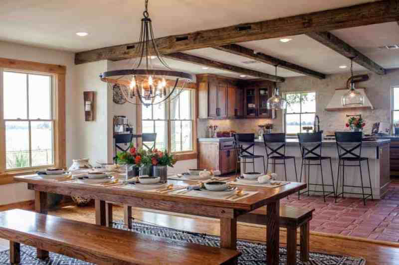 This blog has a full list of farmhouse kitchen products to coy the look from some popular Fixer Upper makeovers! Must pin!