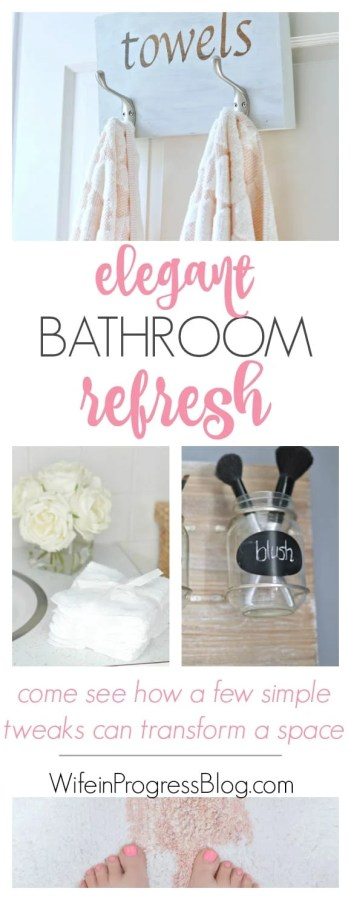 Not all bathroom makeovers need to be extensive and cost a fortune. See how this blogger transformed her master bathroom just by switching out some key accessories.