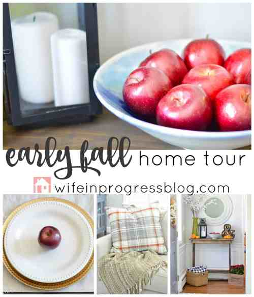 Fall decor ideas and inspiration from WifeinProgressBlog.com