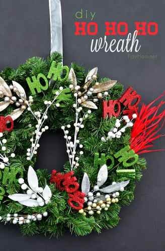 How to Make a Christmas Wreath - 21 of the best Christmas Wreaths That You Can Make Yourself!