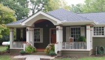 Front Porch with Hip Roof