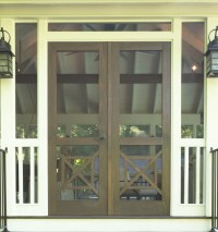 Southern Cross Double Screen Doors - The Porch CompanyThe ...