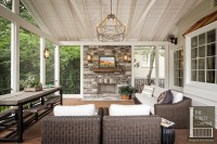 Screened Porch and Garage Oasis - The Porch Company