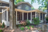 Heirloom-quality woods and a cottage bed swing fit this L ...