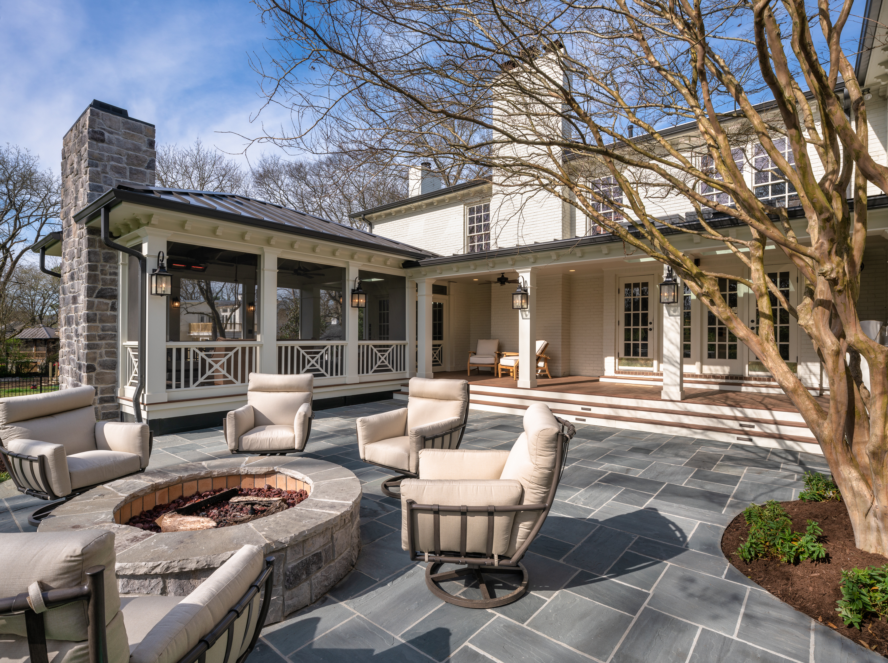 in belle meade tn two porches plus a