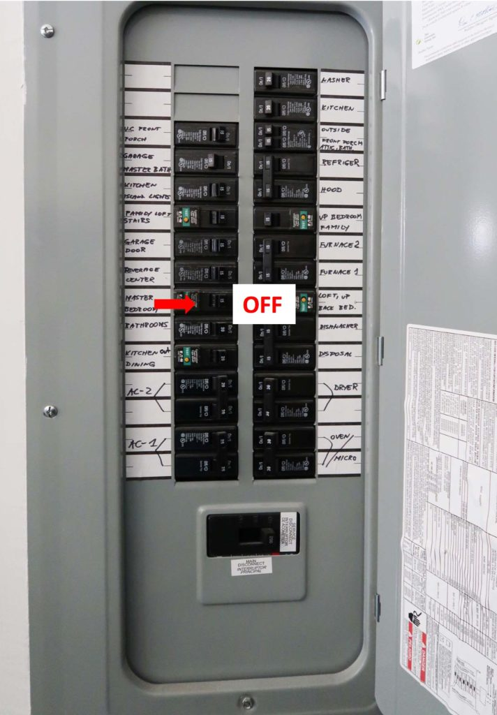 How To Turn Off A Circuit Breaker Electrical Basics