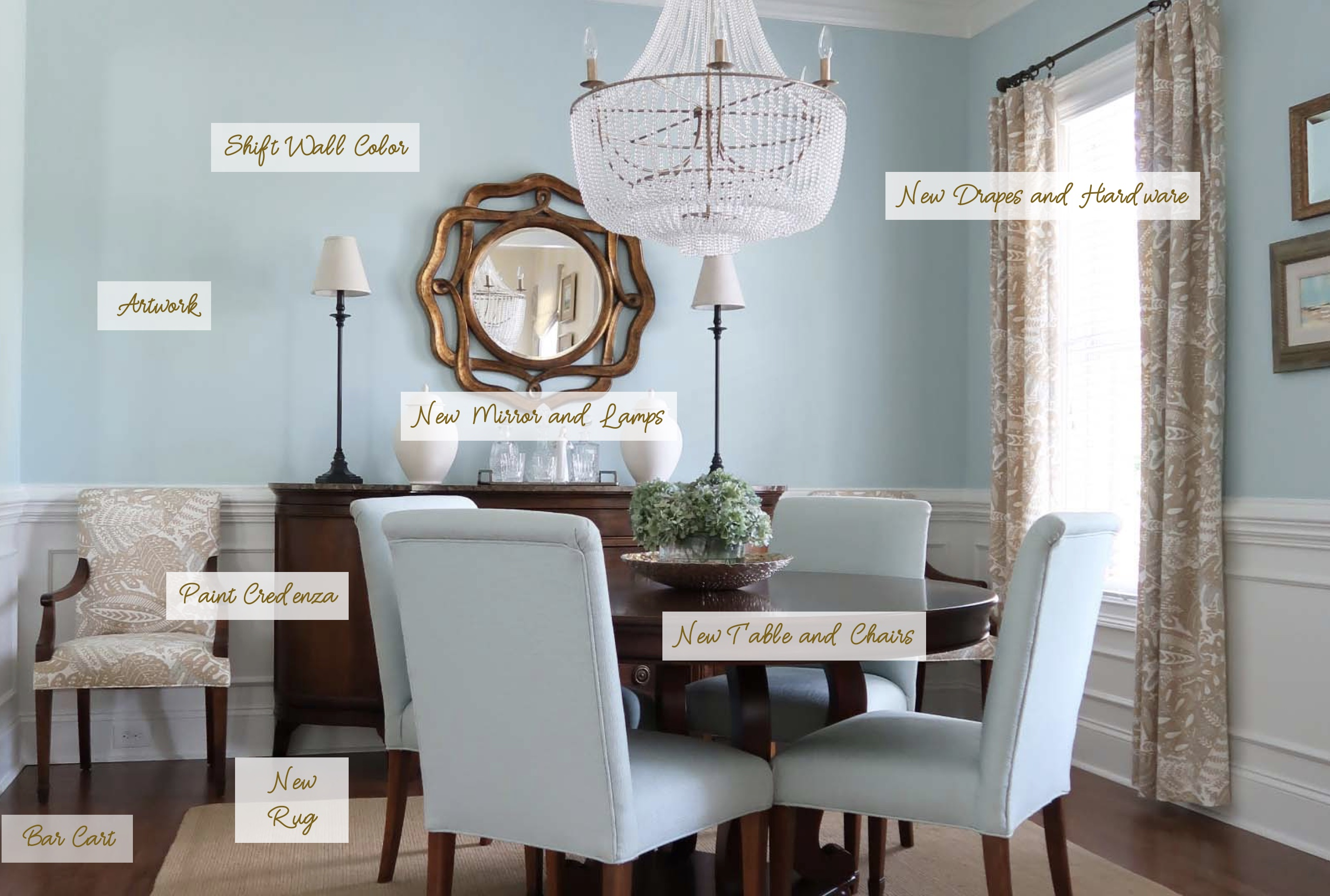 Country Dining Room Chairs Orc Reveal Modern French Country Dining Room Porch Daydreamer