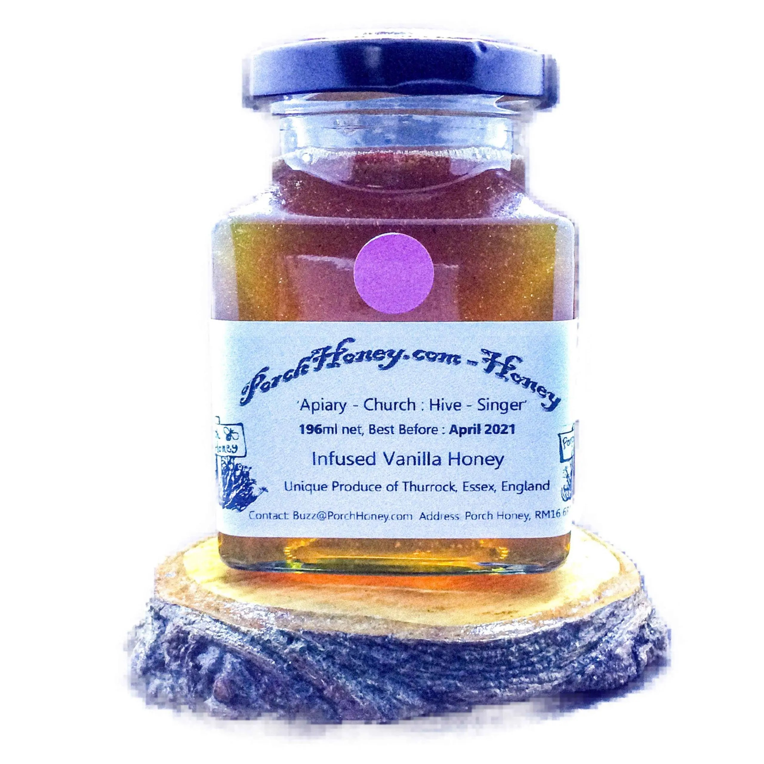 Honey with Infused Vanilla