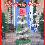 Tomato Cage Christmas Trees Diy Outdoor Christmas Decorations Porch Light Reading