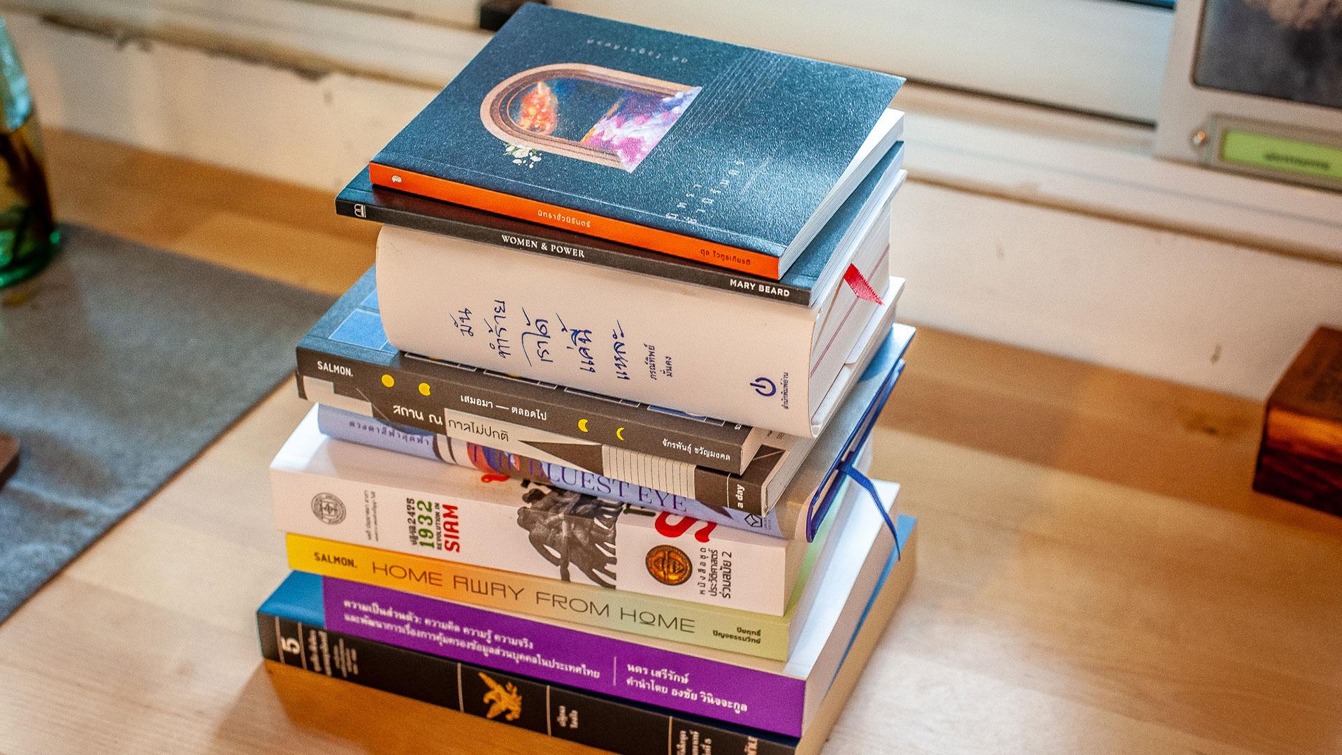10 หนังสือน่าอ่านน่าสะสมในงานมหกรรมหนังสือ 63